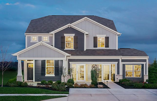 Park Place:Model at Landings at Andover