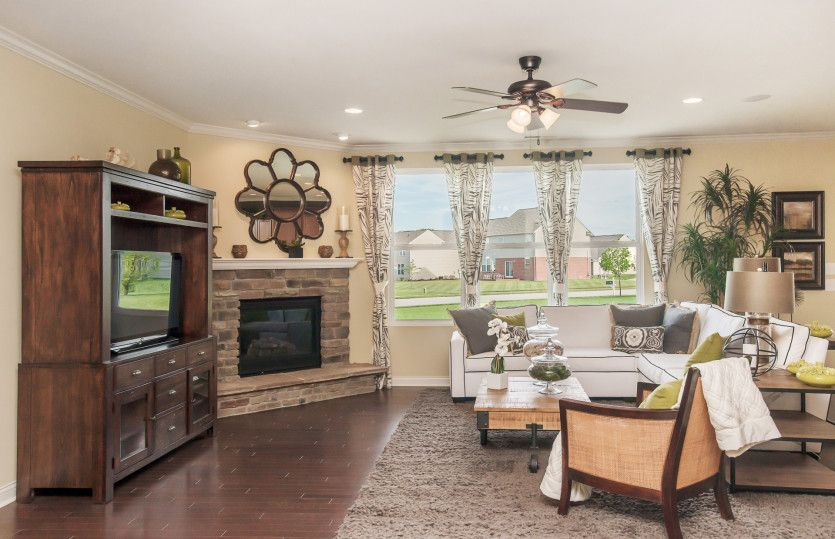 Living Area featured in the Amberwood By Pulte Homes in Indianapolis, IN