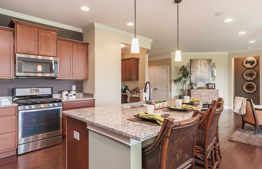 Kitchen featured in the Amberwood By Pulte Homes in Indianapolis, IN