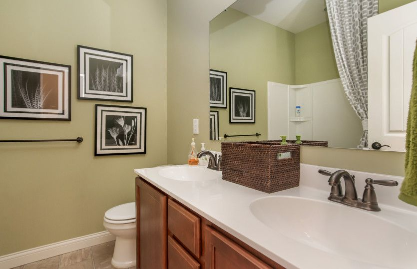 Bathroom featured in the Amberwood By Pulte Homes in Indianapolis, IN