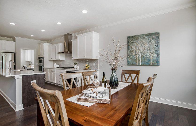 Kitchen-in-Stockbridge-at-Hidden Pines-in-Zionsville