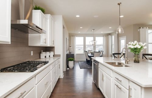 Kitchen-in-Belfort - Slab-at-The Haven-in-Fishers