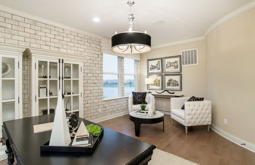 Living Area featured in the Bourges By Pulte Homes in Indianapolis, IN