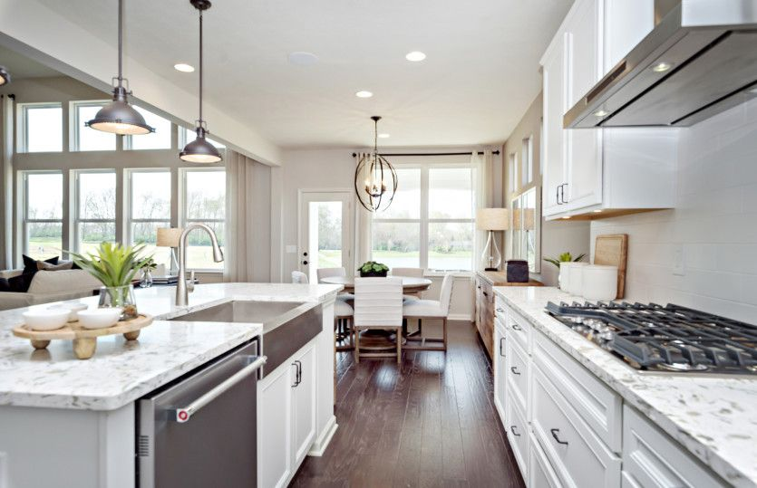 Kitchen featured in the Allison By Pulte Homes in Indianapolis, IN