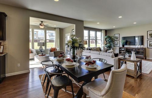 Greatroom-and-Dining-in-Newberry-at-Poplar Lakes-in-Louisville
