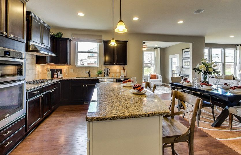 Kitchen-in-Newberry-at-Reserves of Deer Fields-in-Lagrange