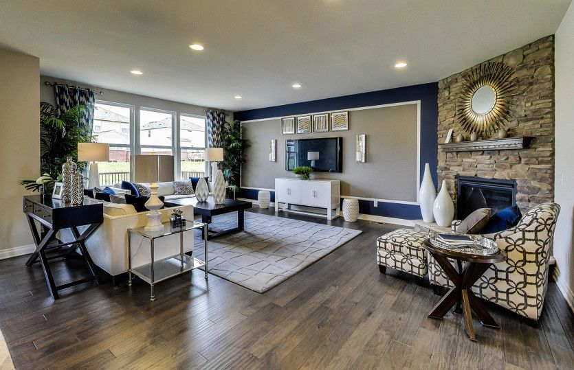 Living Area featured in the Mercer By Pulte Homes in Louisville, KY