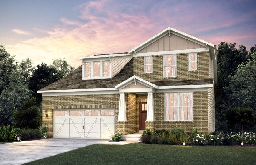 Exterior featured in the Linwood By Pulte Homes in Louisville, KY