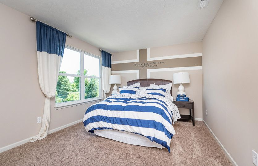 Bedroom featured in the Martin Ray By Pulte Homes in Indianapolis, IN
