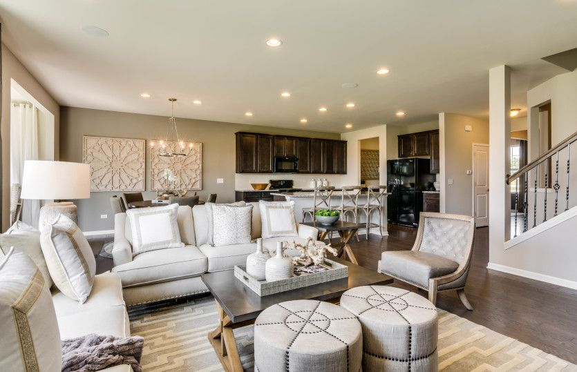 Living Area featured in the Continental By Pulte Homes in Indianapolis, IN