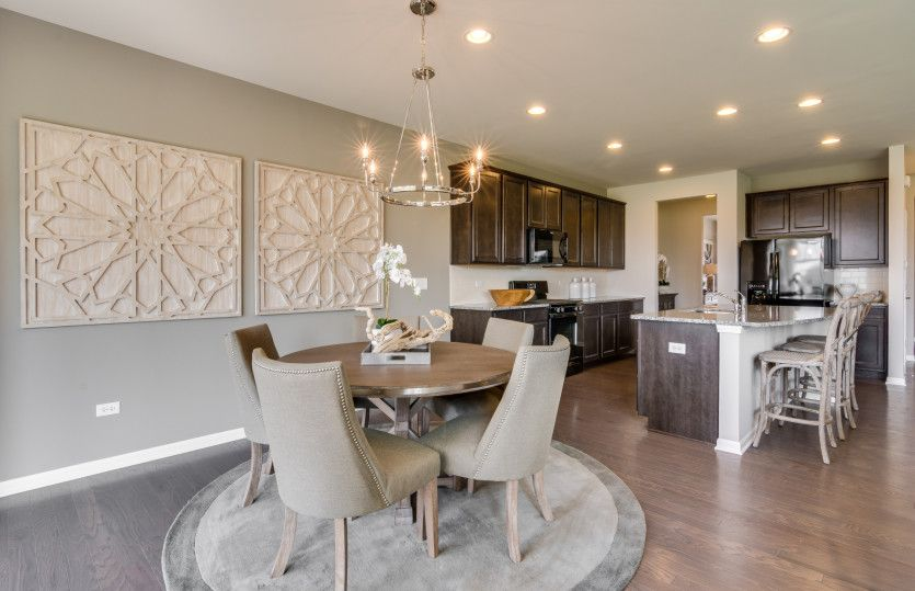 Kitchen featured in the Continental By Pulte Homes in Indianapolis, IN