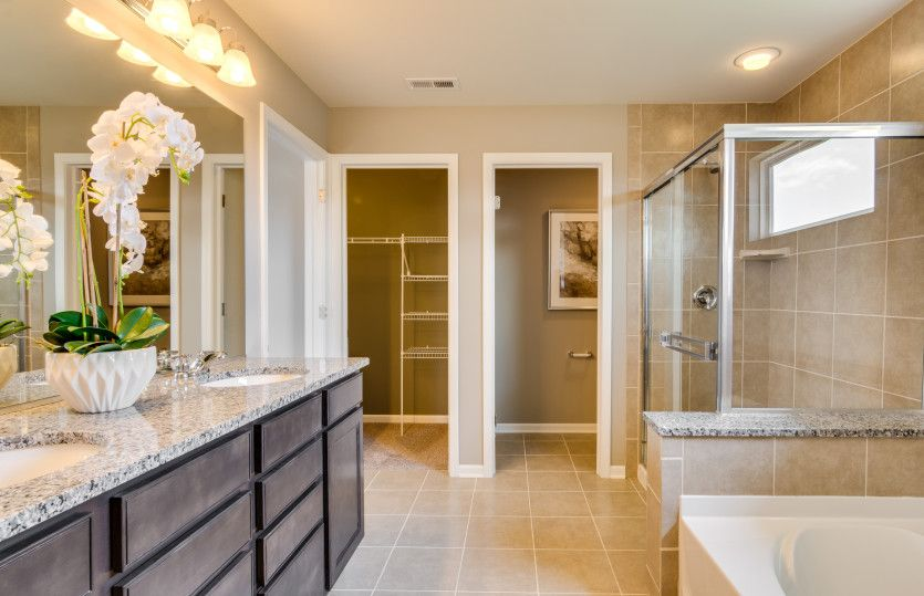 Bathroom featured in the Continental By Pulte Homes in Indianapolis, IN