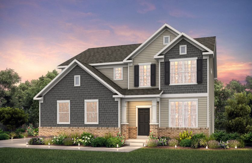 Exterior featured in the Mercer By Pulte Homes in Louisville, KY