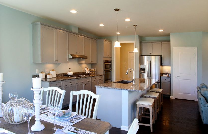 Kitchen featured in the Bankston By Pulte Homes in Boston, MA