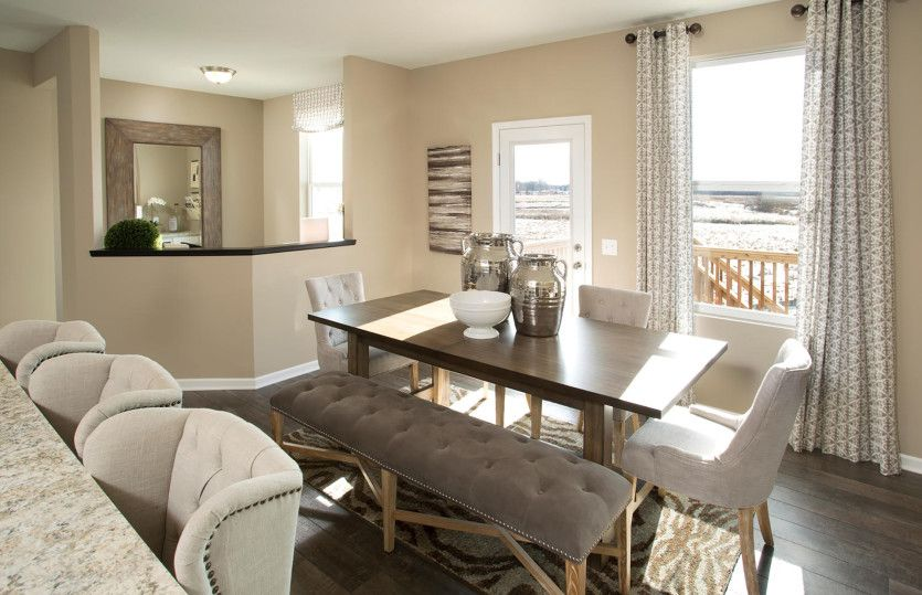Living Area featured in the Mercer By Pulte Homes in Boston, MA