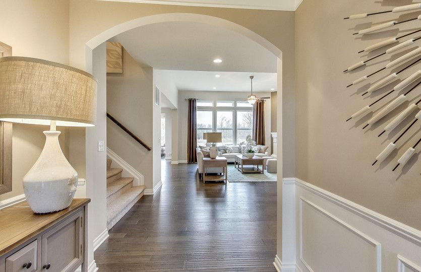 Living Area featured in the Maple Valley By Pulte Homes in Ann Arbor, MI