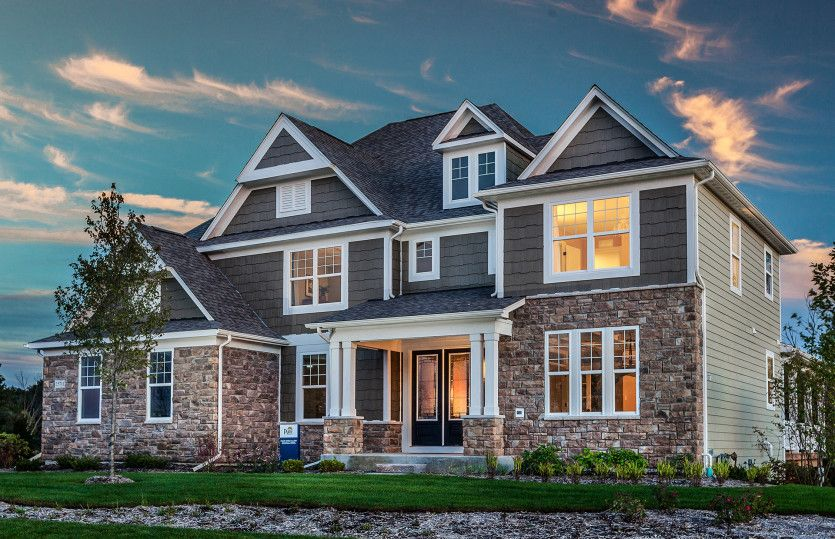 Exterior featured in the Rockwall By Pulte Homes in Detroit, MI