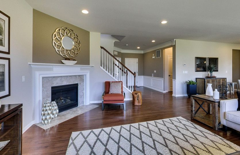 Living Area featured in the Newberry By Pulte Homes in Ann Arbor, MI