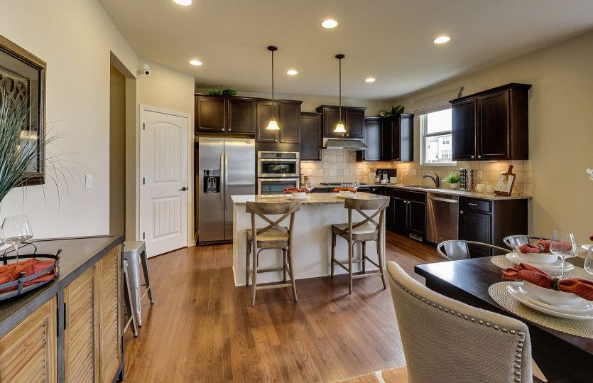 Kitchen featured in the Newberry By Pulte Homes in Ann Arbor, MI