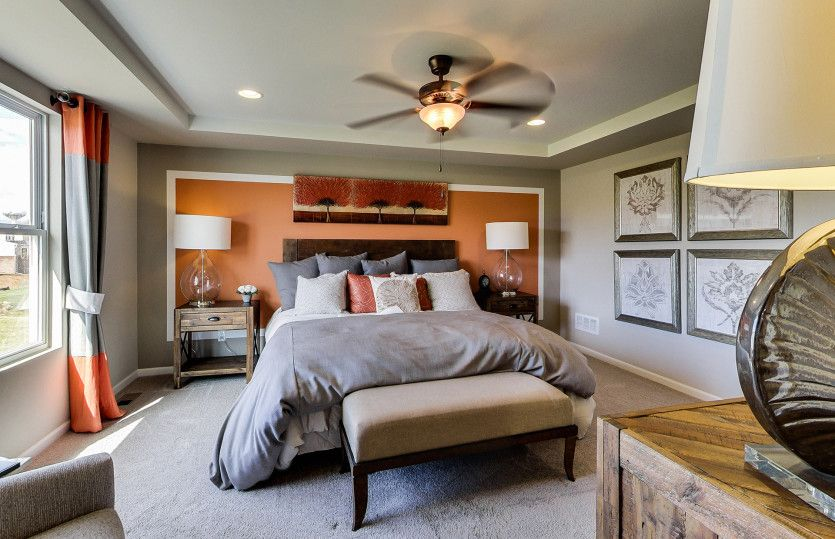 Bedroom featured in the Newberry By Pulte Homes in Ann Arbor, MI