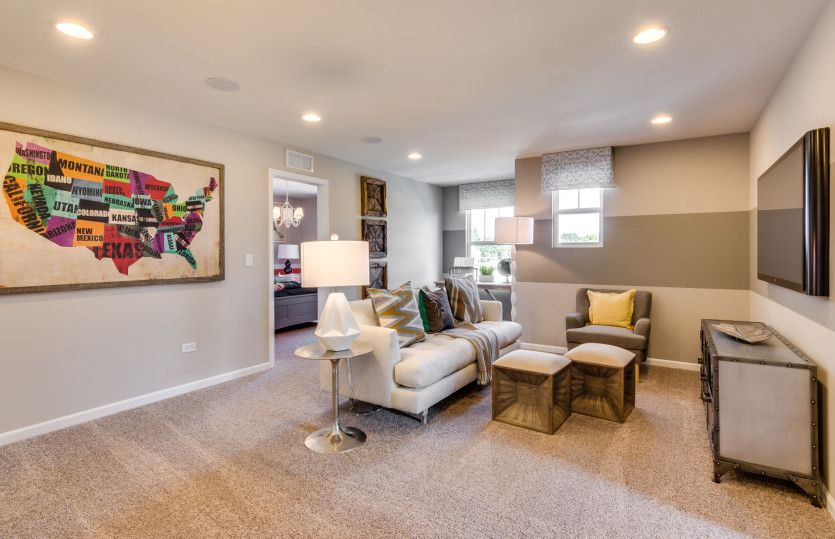 Living Area featured in the Continental By Pulte Homes in Ann Arbor, MI