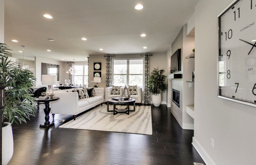 Living Area featured in the Boardwalk By Pulte Homes in Detroit, MI