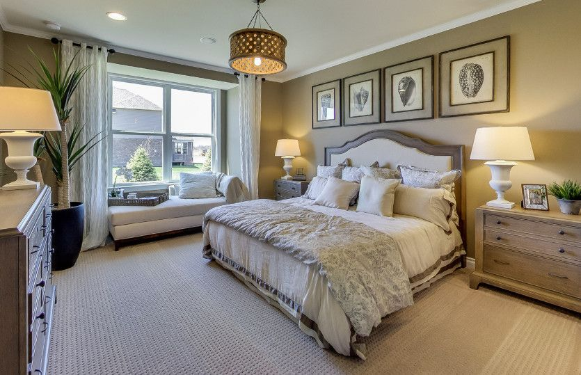 Bedroom featured in the Abbeyville with Basement By Pulte Homes in Ann Arbor, MI