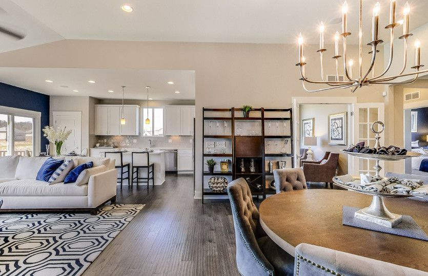 Living Area featured in the Bayport with Basement By Pulte Homes in Ann Arbor, MI