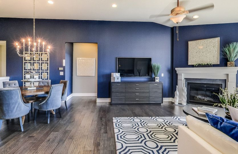 Living Area featured in the Bayport Cottage By Pulte Homes in Detroit, MI
