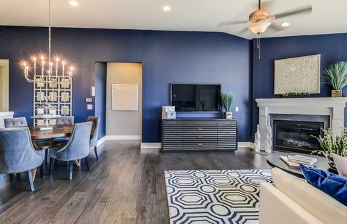 Greatroom-and-Dining-in-Bayport-at-Villas at Inglewood Park-in-Ann Arbor