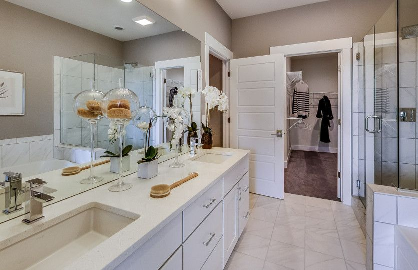 Bathroom featured in the Bayport By Pulte Homes in Detroit, MI