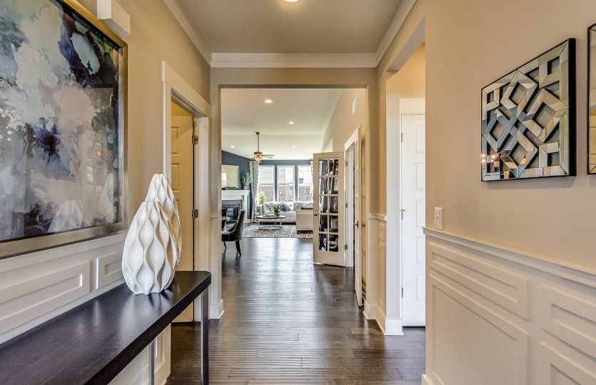 Living Area featured in the Bayport II By Pulte Homes in Detroit, MI