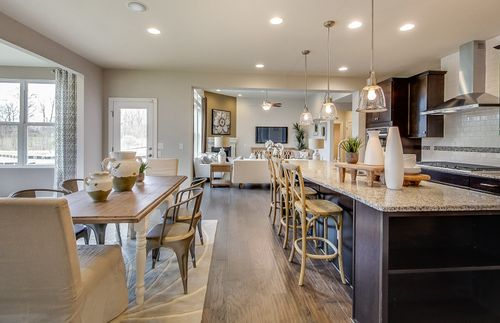 Greatroom-and-Dining-in-Maple Valley-at-Huntington Woods-in-Saline