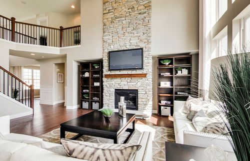 Greatroom-and-Dining-in-Woodside-at-Huntington Woods-in-Saline