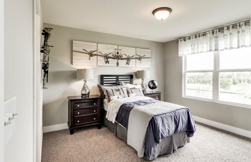 Bedroom featured in the Woodside By Pulte Homes in Ann Arbor, MI
