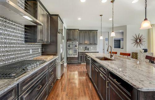 Kitchen-in-Castleton-at-Huntington Woods-in-Saline