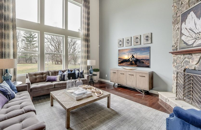 Living Area featured in the Castleton By Pulte Homes in Detroit, MI