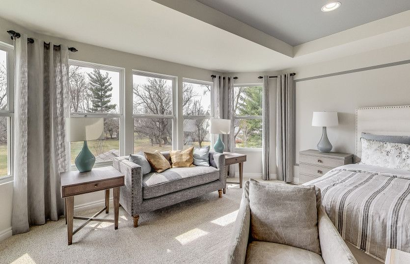 Bedroom featured in the Castleton By Pulte Homes in Detroit, MI