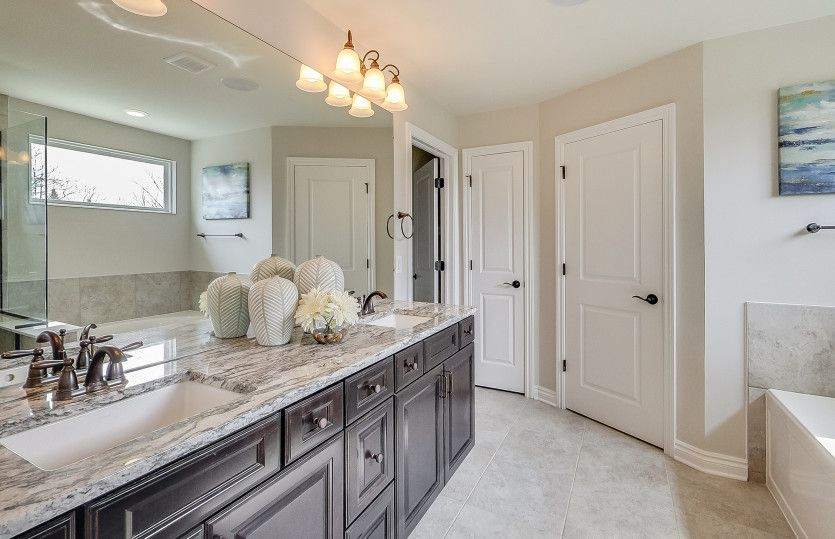 Bathroom featured in the Castleton By Pulte Homes in Detroit, MI