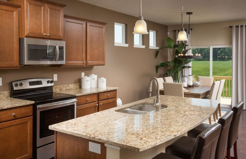 Kitchen-in-Hampton-at-Wellington Place-in-Chesterfield Township