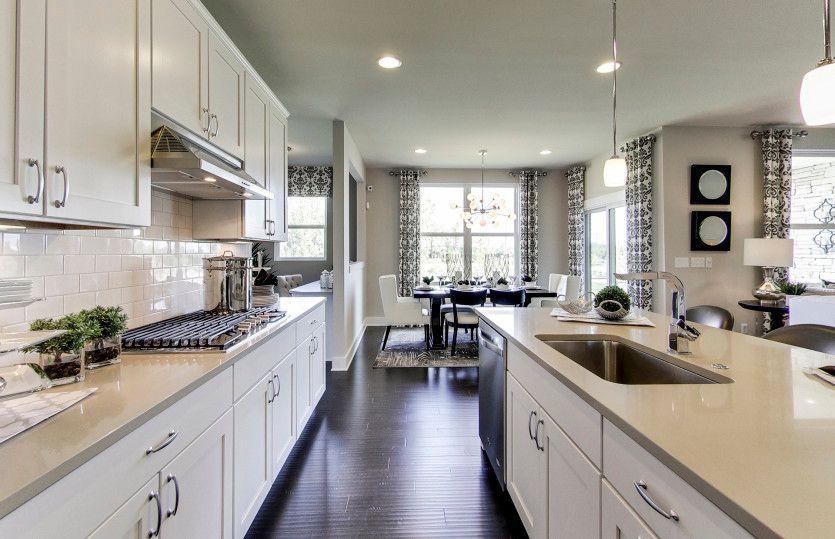 Kitchen featured in the Boardwalk By Pulte Homes in Ann Arbor, MI
