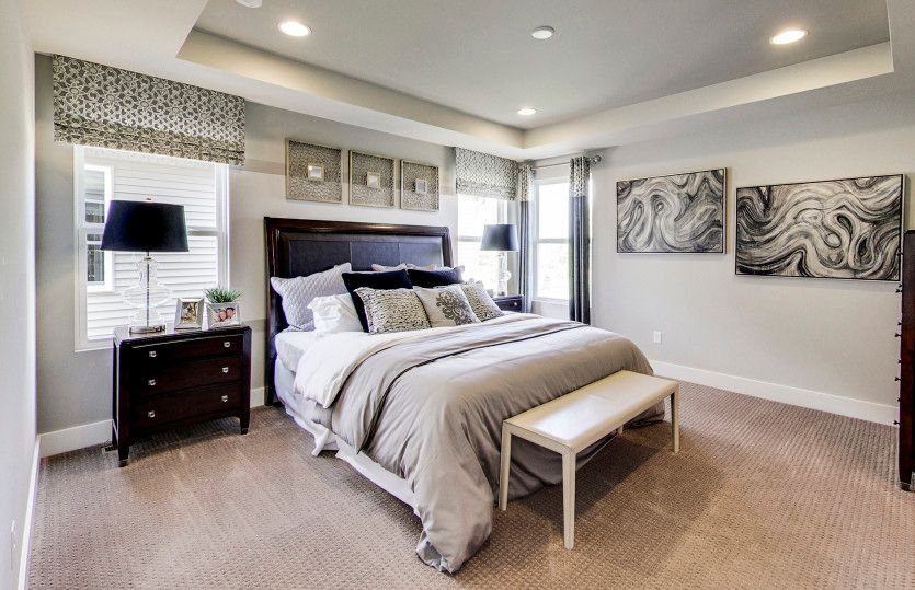 Bedroom featured in the Boardwalk By Pulte Homes in Ann Arbor, MI
