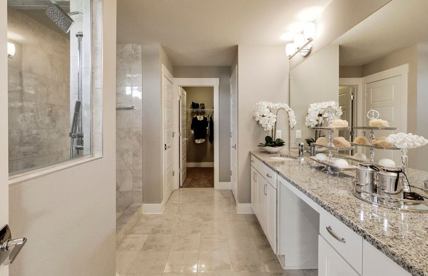 Bathroom featured in the Boardwalk By Pulte Homes in Ann Arbor, MI