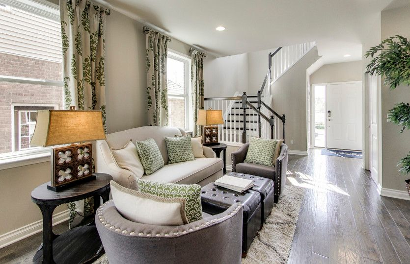 Living Area featured in the Everett By Pulte Homes in Ann Arbor, MI