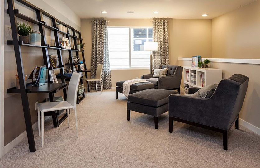 Living Area featured in the Woodward By Pulte Homes in Ann Arbor, MI
