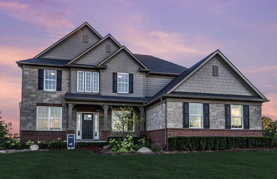 Parkside Estates In Canton Mi New Homes Amp Floor Plans By