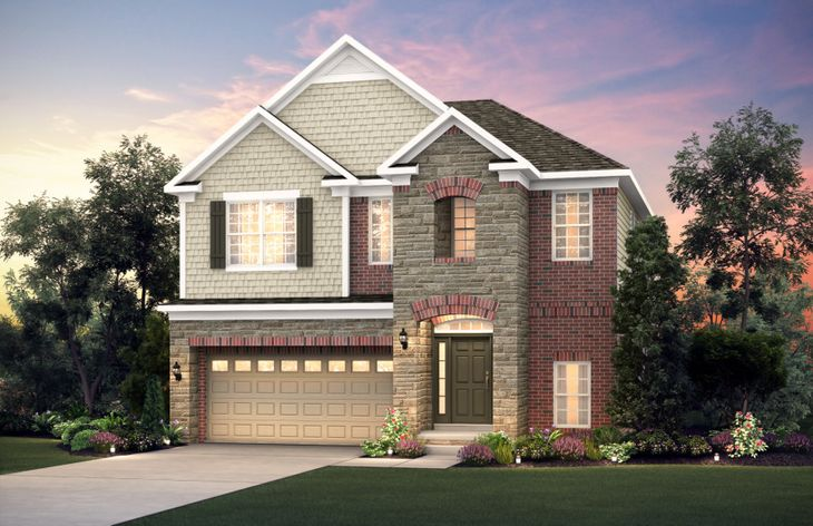 The Landings In Canton Mi New Homes Floor Plans By Pulte Homes