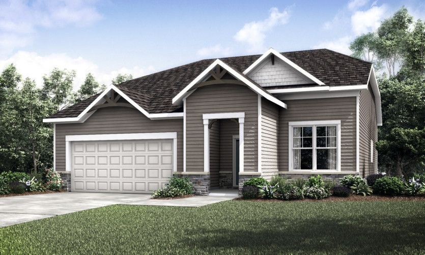 Exterior featured in the Martin Ray with Basement By Pulte Homes in Minneapolis-St. Paul, MN
