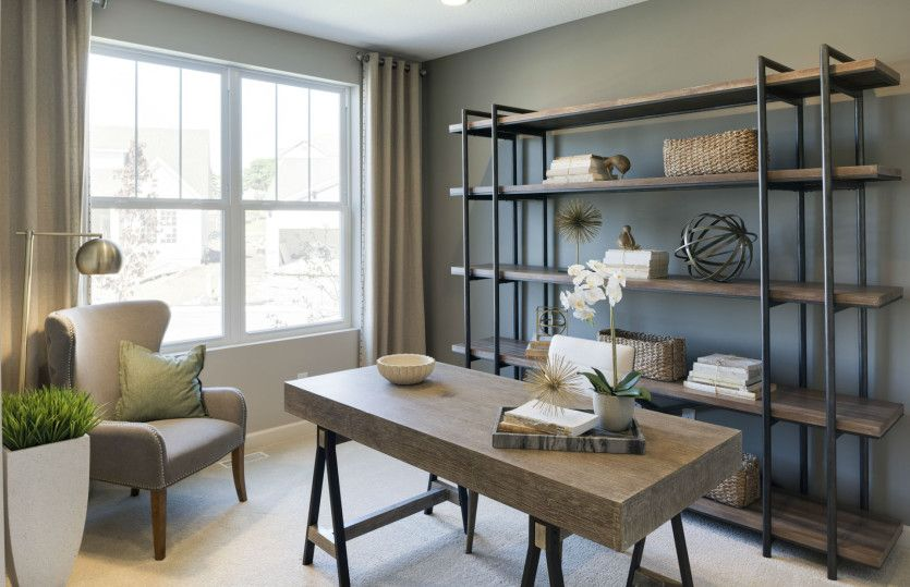 Study-in-Castlerock-at-Camelot Nine - Encore Collection-in-Plymouth