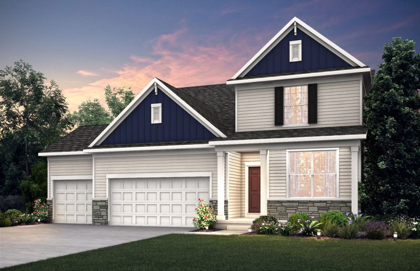 Exterior featured in the Linwood By Pulte Homes in Minneapolis-St. Paul, MN